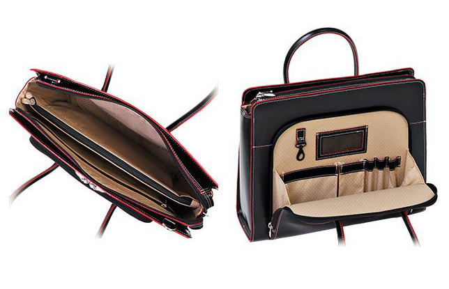 McKlein Lake Forest Briefcase изнутри