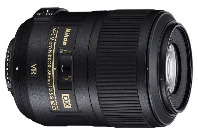 NIKKOR 85mm F / 3.5G AF-S DX ED VR Micro