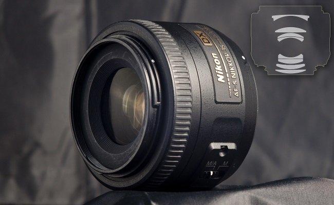Nikon 35mm F / 1.8G AF-S DX