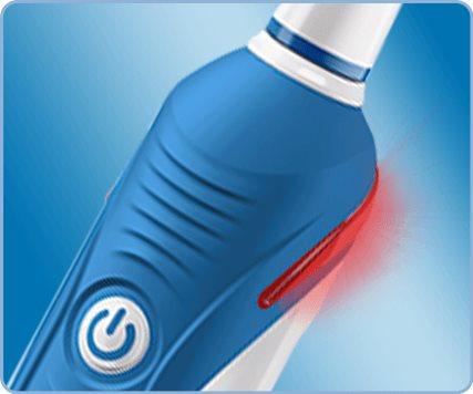 Oral B: датчик давления