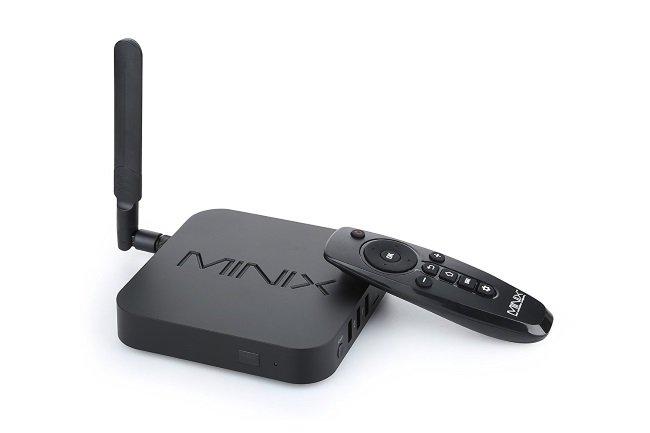Minix U1 - лучшая смарт приставка