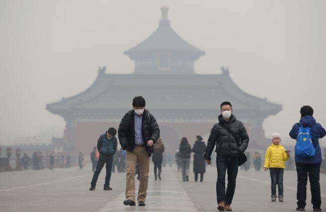 Загрязнение (смог) в Китае